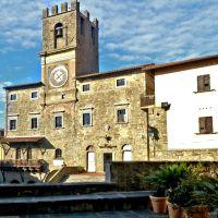 Cortona, onder de Toscaanse zon
