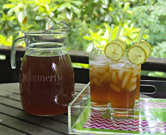 Aloe Vera Peach Long Island Ice Tea