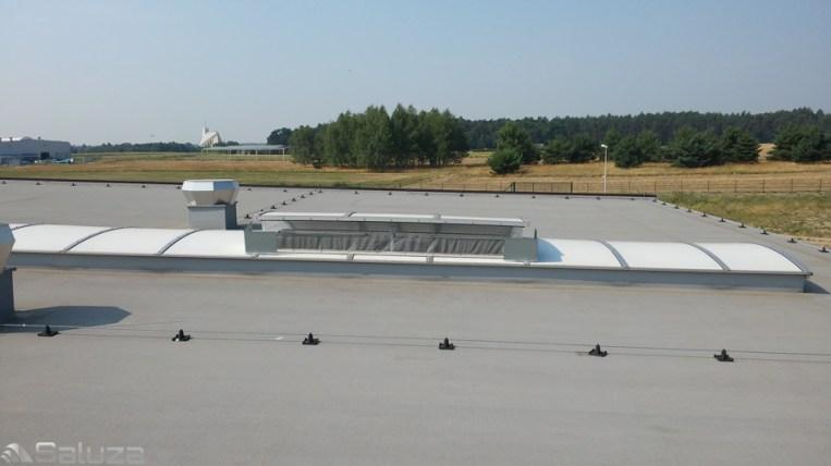 Moskitiery świetlikowe dachowe