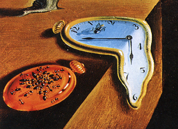 Image result for salvador dali time