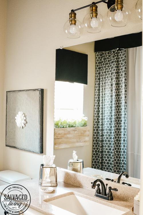 girl s black and white bathroom ideas