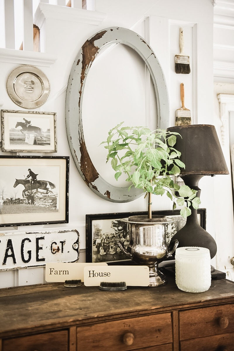 ways to decorate with silver salvaged