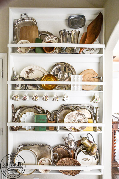 plate rack decorating tips salvaged