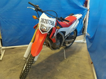 Salvage Title Motorcycle at Copart Auction