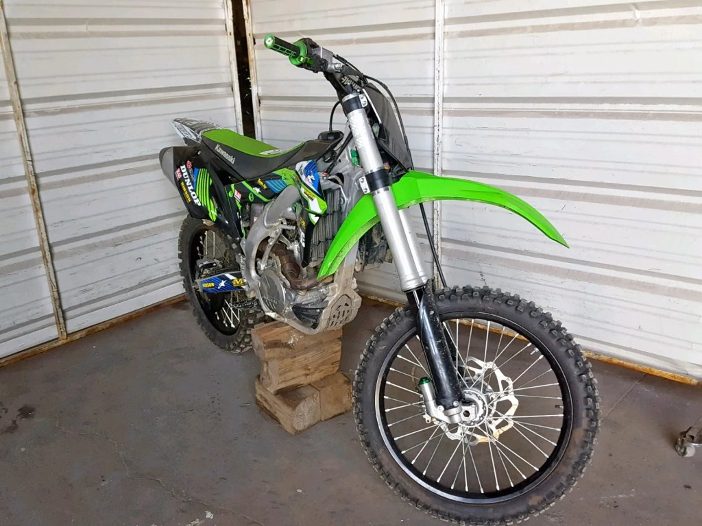 Salvage Title Kawasaki Stolen And Recovered