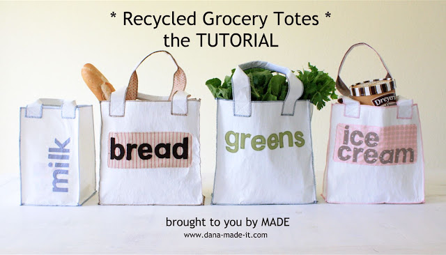 plastic bag reuse tutorial dana made it