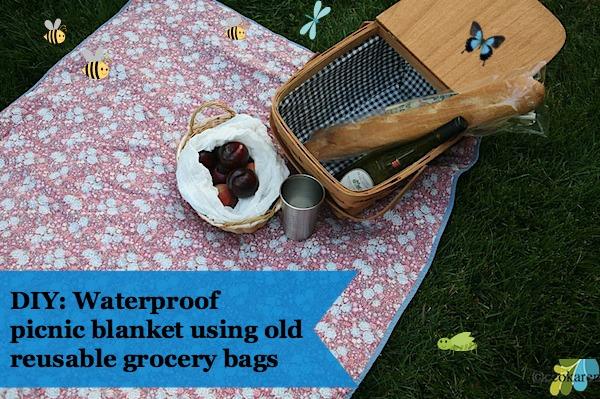 reuse grocery bags waterproof blanket