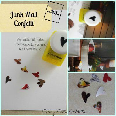 junk mail confetti