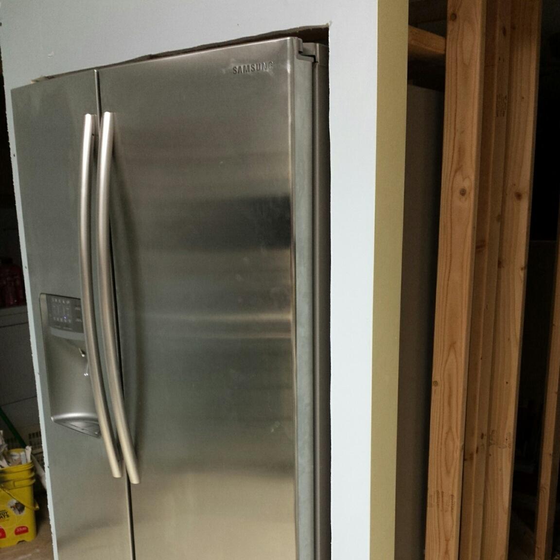 fridge inserted