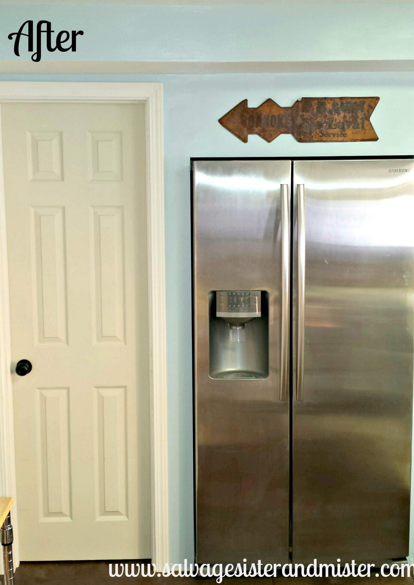 fridge wall after 1