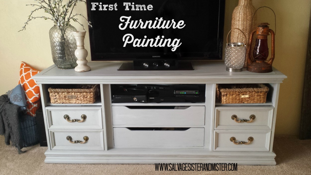 furniture painting first time 1