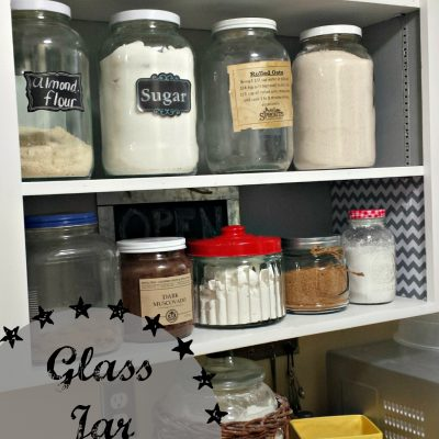 glass jar canister
