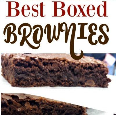 Best Boxed Brownies