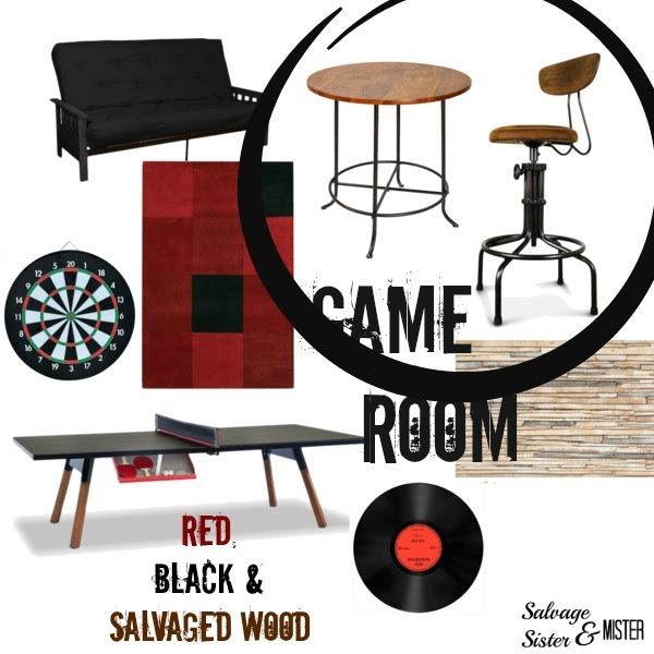 one room challenge game room board watermarked chair and table circled