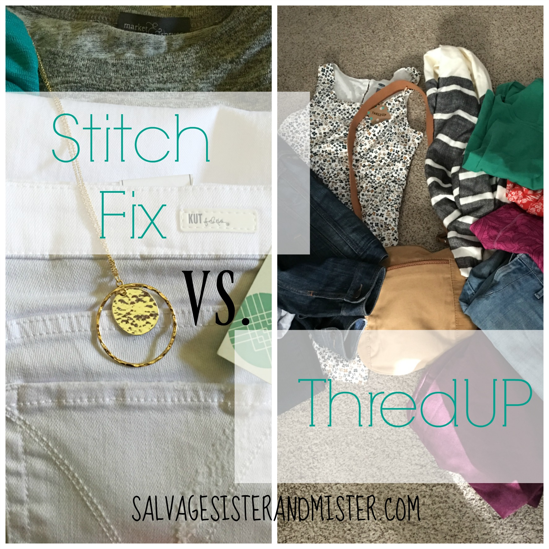 In the world of fashion, there are lots of options. I am comparing two services, stitch fix and thredup. Both clothing services offer brand names. Come find out the pros and cons of using both clothing store options. For fashionista or not?