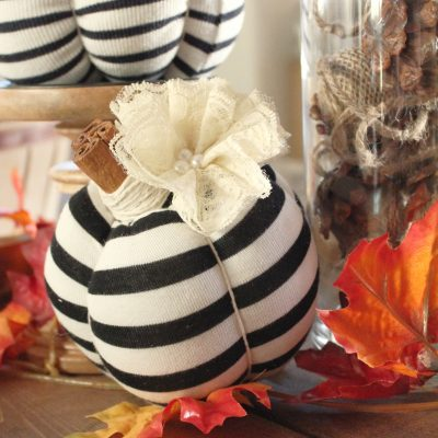 What can you do with old clothes, especially if those clothes hold memories? You can turn them into no sew pumpkins to have for years to come. This DIY project is simple to do. Easy way to have fall decor on a budget. Interior Decor, Upcycle, Reuse