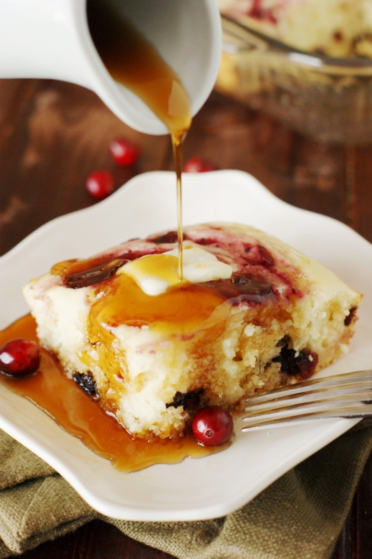 cranberry-baked-buttermilk-pancakes-with-maple-syrup-1-thanksgiving-leftovers