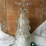 Di do change out a light fixture and have some glass globes around? What about free a free pile or your local thrift store? These are cheap to come by and you can make this easy holiday decor item with very little money or time invested. Perfect upcycle or reuse DIY project. You can make this Christmas decor item for yourself or give it as a gift. Very inexpensive.