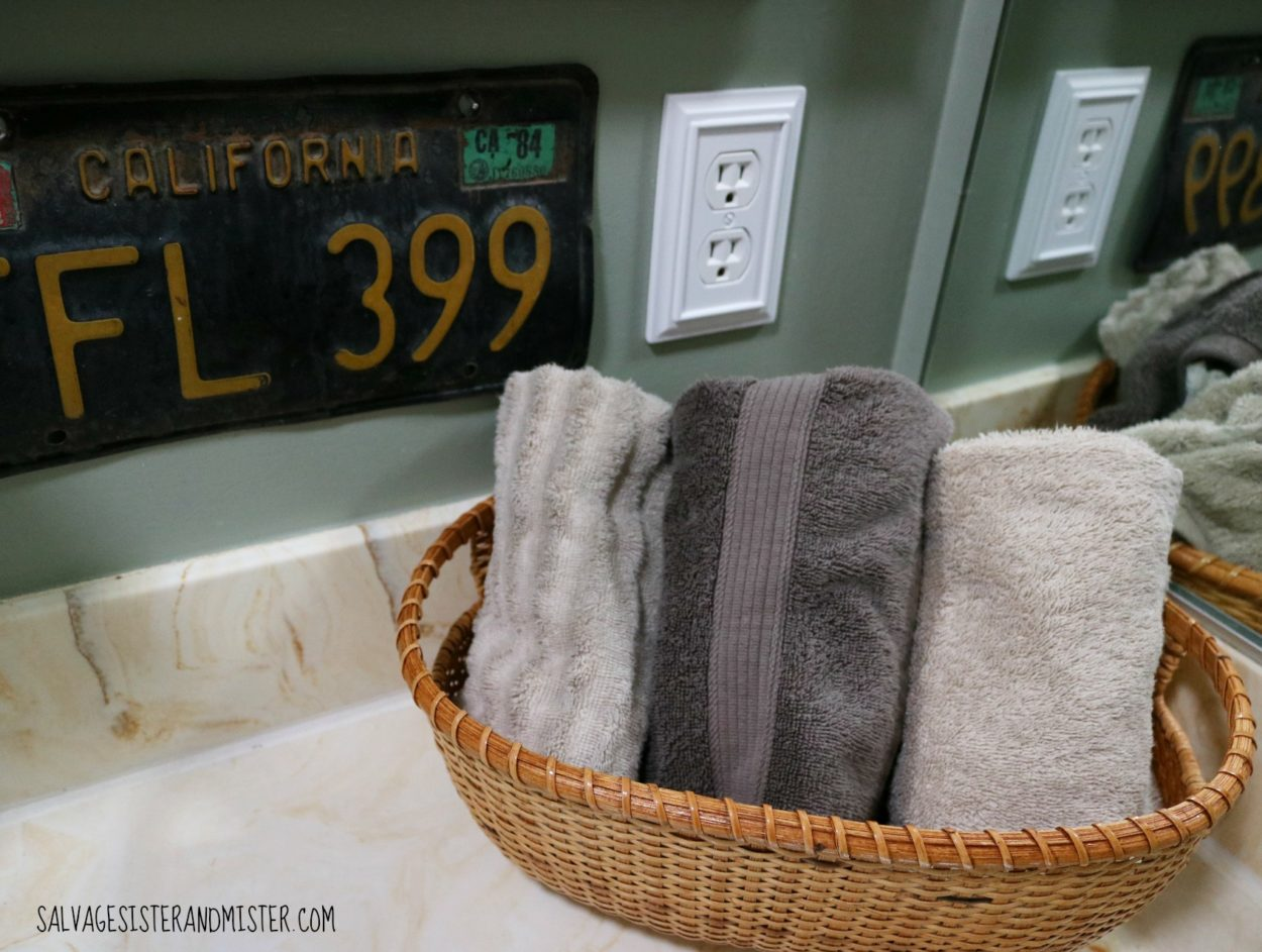 low cost rustic bathroom makeover 10A