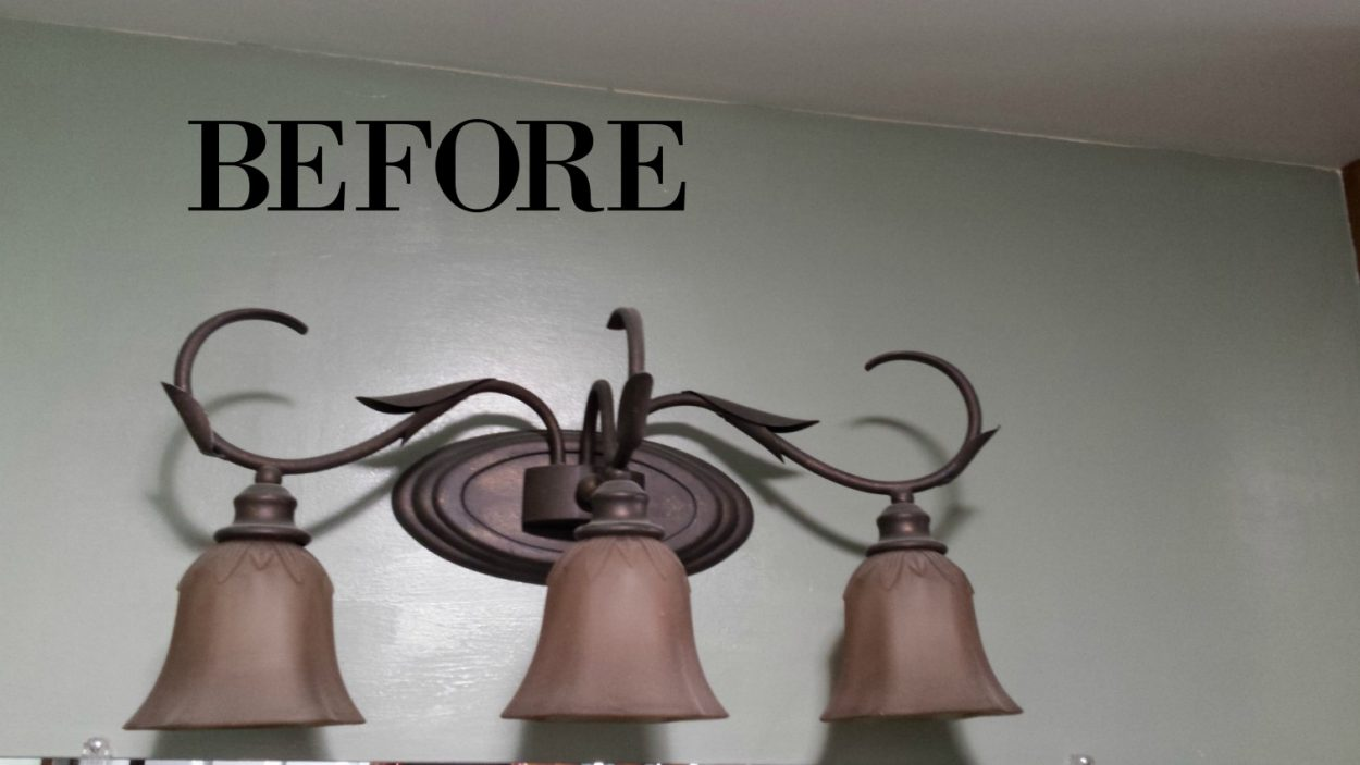old bathroom light fixture salvagesisterandmister.com