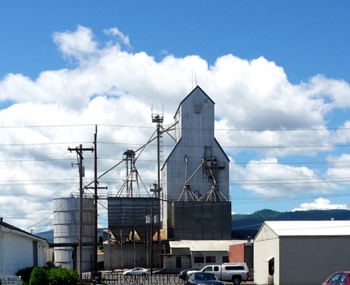 Central Point grain elevators. We are sharing a Waco Tx experience here in Southern Oregon