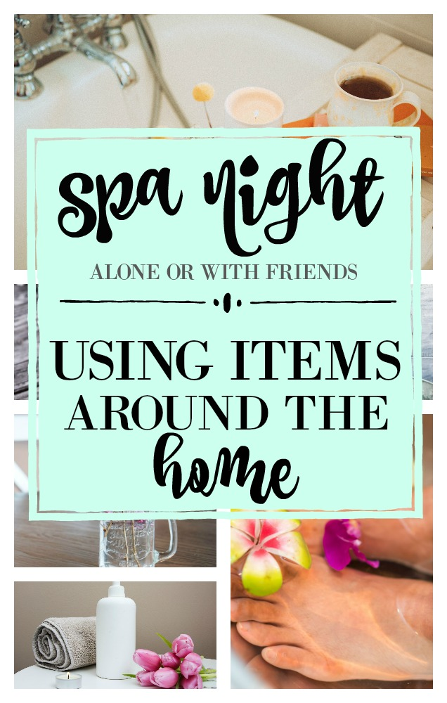 Spa night at home with friends or alone using items from around the home. From rolling pins, to an over ripe avocado to give that spa feel. Mani/pedi, facials, gifts to give friends, etc all using items you have in your own home to keep it budget-friendly. great use for items that may not get used - reuse. Get the details here at salvagesisterandmister.com