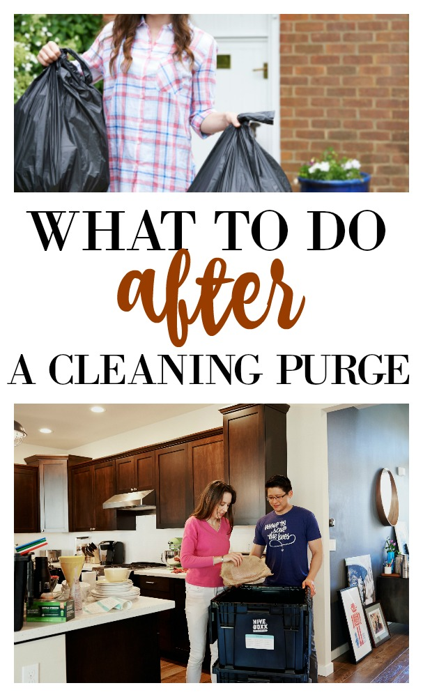Have you done a big cleaning purge recently? Maybe the 40 bags in 40 days challenge? Or maybe you have been tidying up with Marie Kondo? There is a lot of information on how and what to purge but what about after the puge? How to beak the cycle of purchasing and donating. Salvage moments post on salvagesisterandmister.com