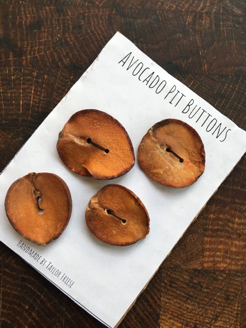 avocado buttons
