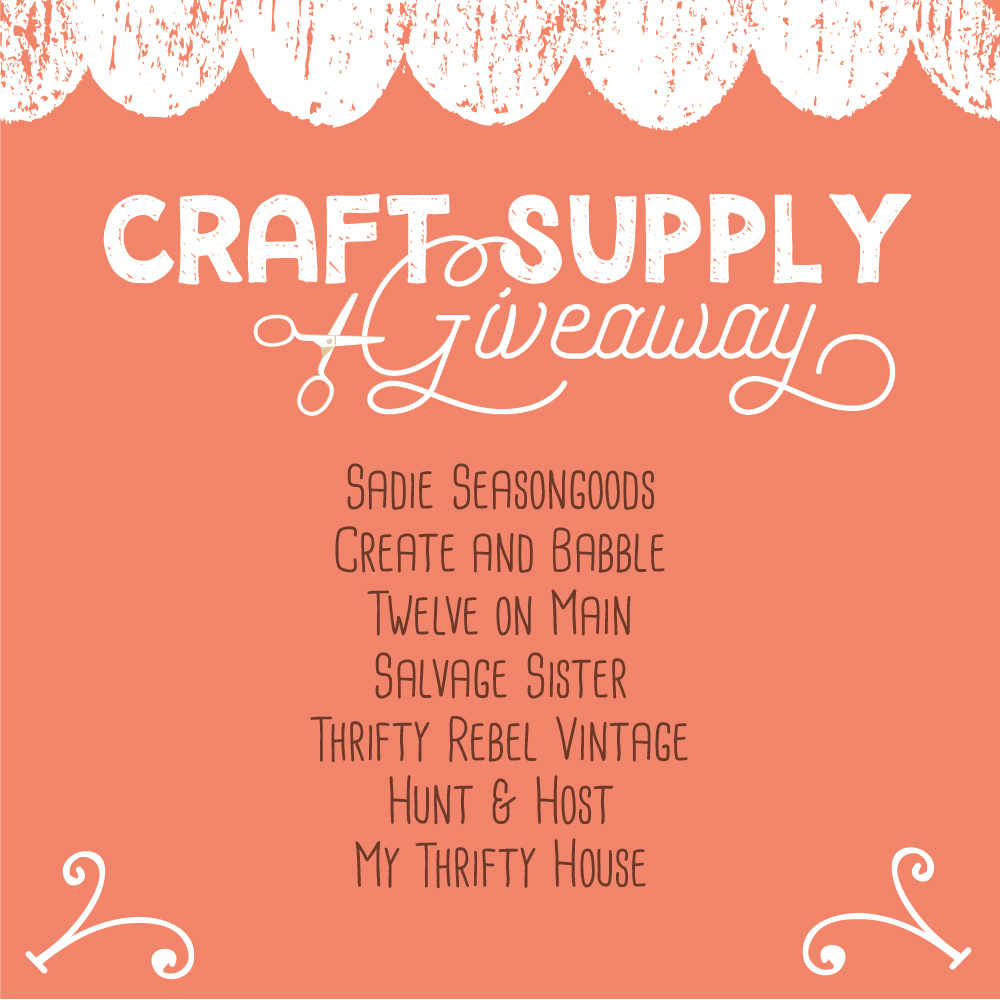craft supply and more giveaway