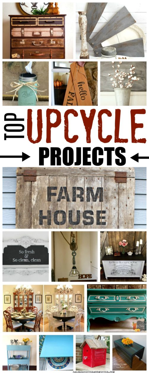 TOP UPCYCLE PROJECTS
