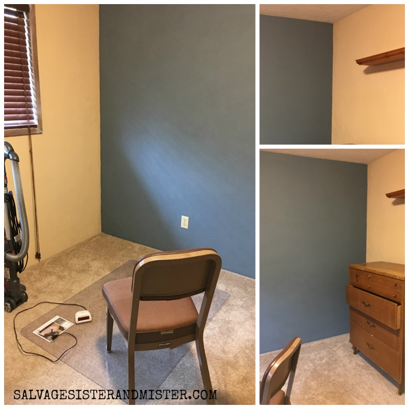 ORC converting bedroom to home office week 1 before