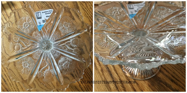 UPDATING A THRIFT STORE DISH - JADEITE ON SALVAGESISTERANDMISTER.COM