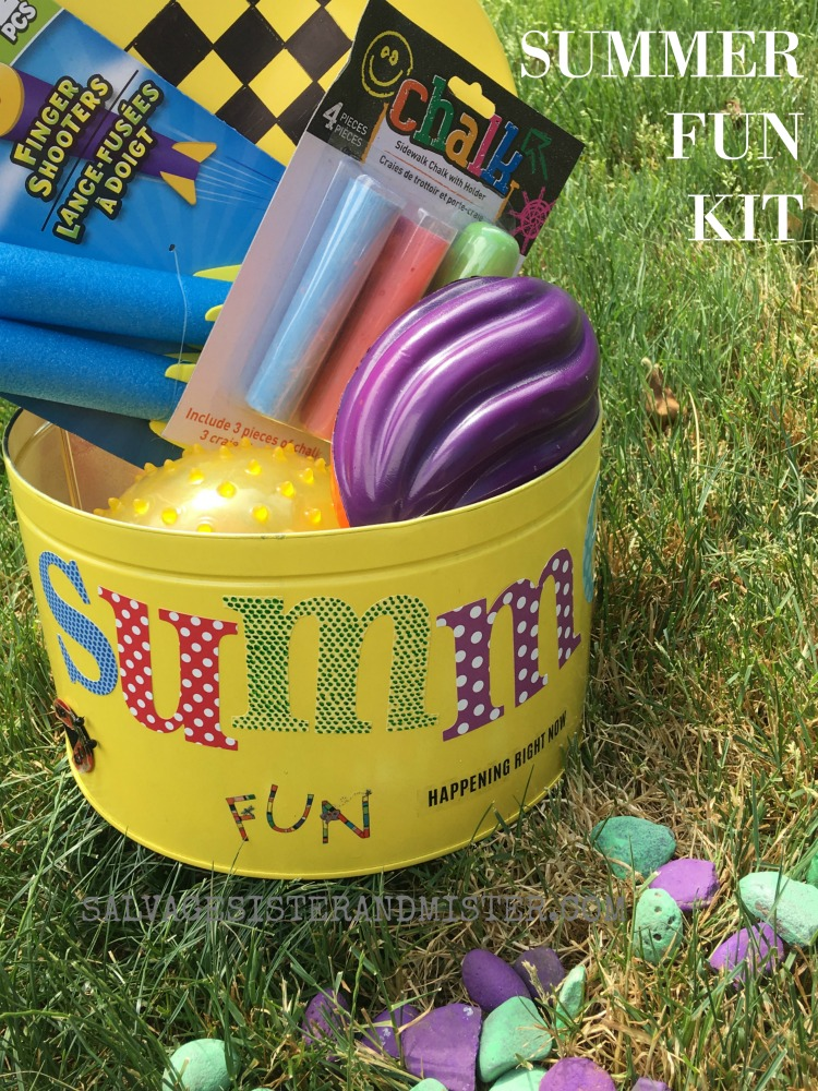 Summer fun kit to keep kids busy through the summer
