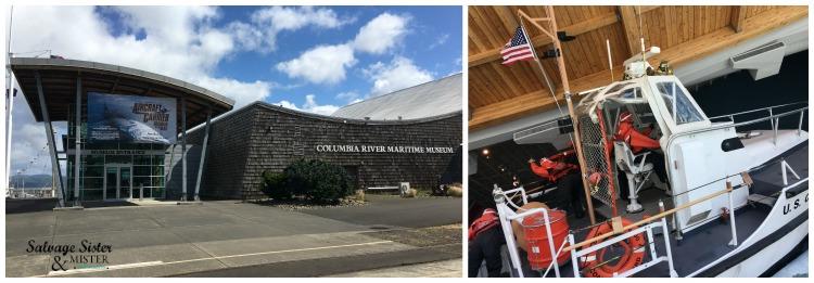 Columbia Maritime Museum - weekend in Astoria Oregon more at salvagesisterandmister.com