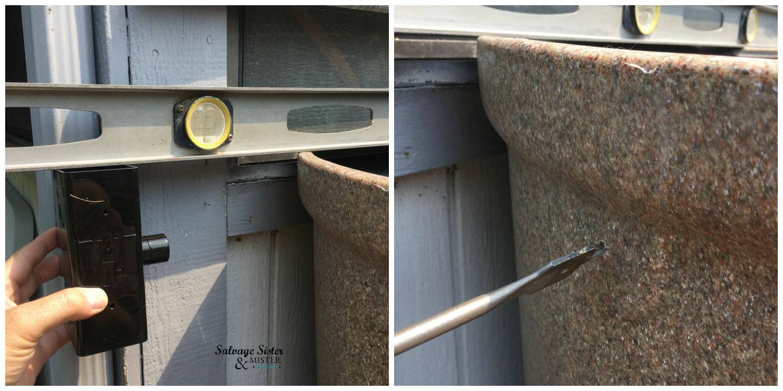 Installing a Rain Barrel - Backyard Rainwater Collection System