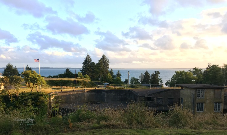 Fort Comlumbia - more at salvagesisterandmistter.com