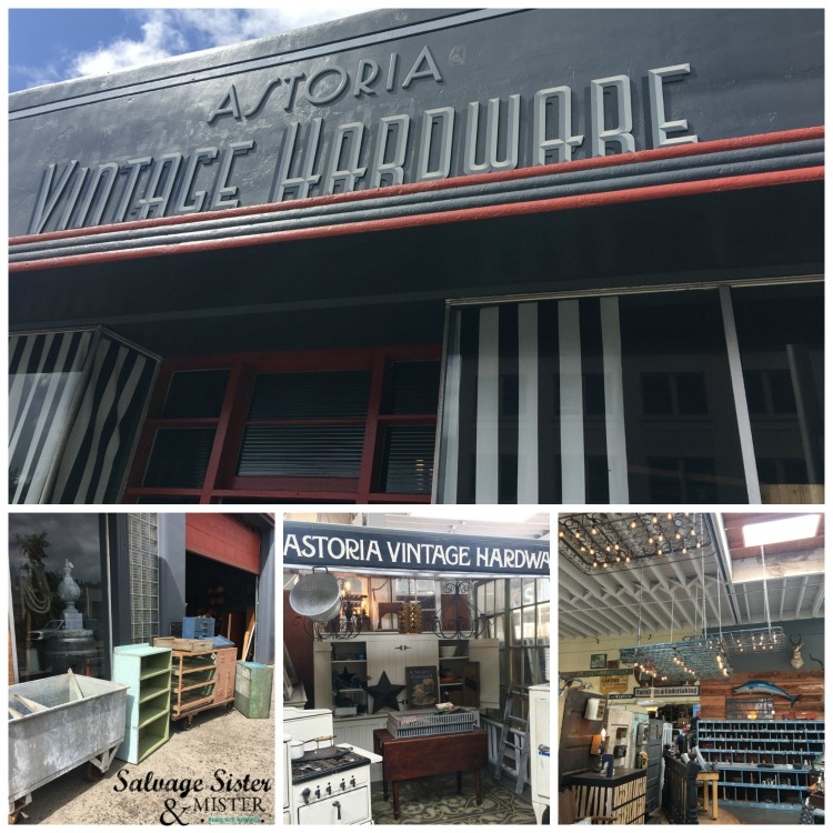 Visiting Astoria Vintage Hardware to do a little junkin while in Astoria Oregon #junkin #vintage #astoria