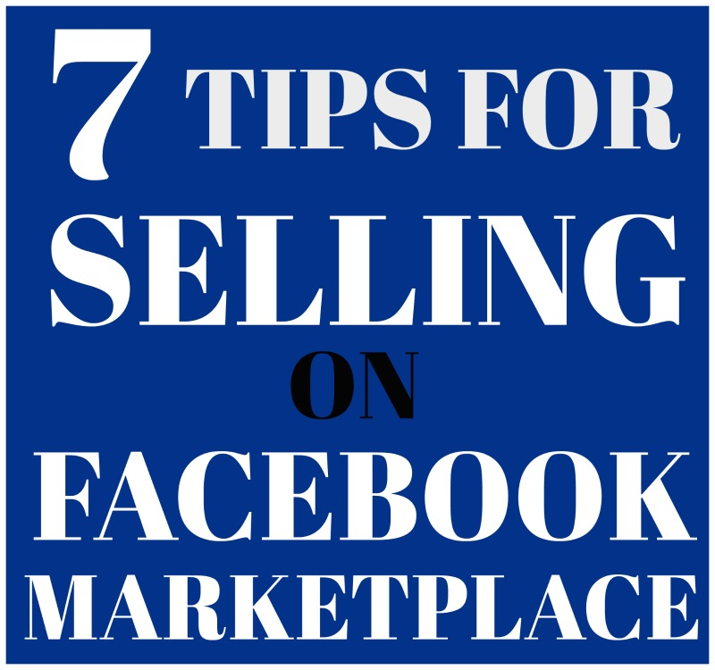 FACEBOOK MARKETPLACE SELLING TIPS - PLUS SOME FROM THE TRENCHES EXPERIENCE INFO ON SALVAGESISTERANDMISTER.COM
