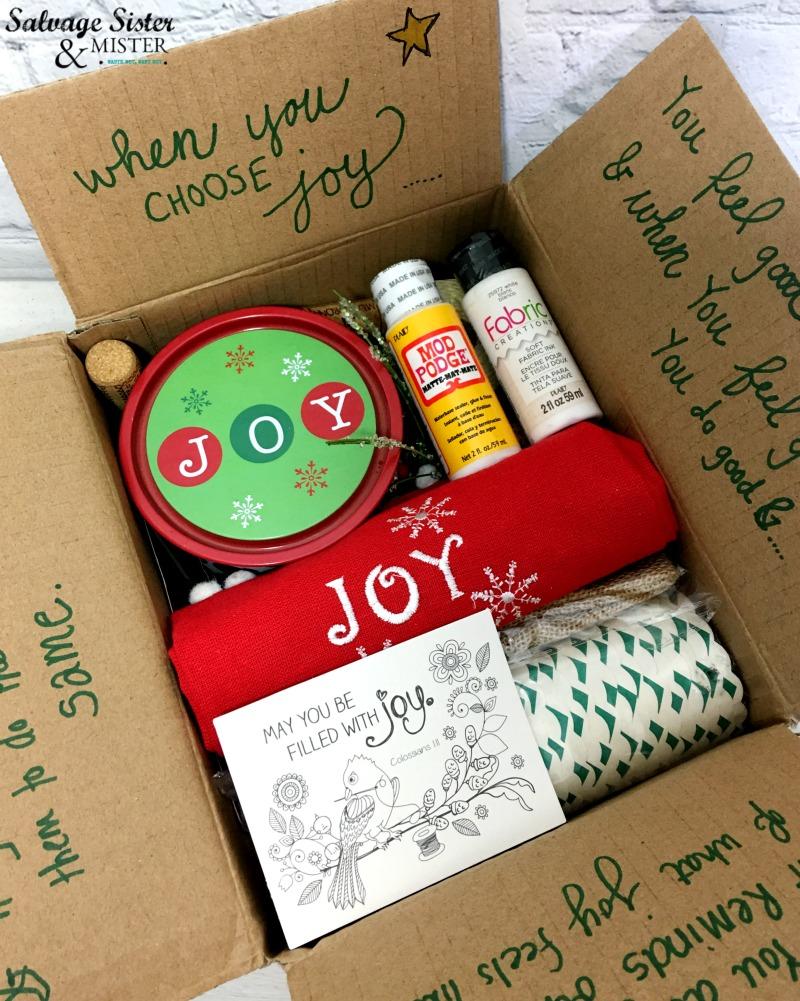 October 2018 Choose Joy Craft Junk Giveaway