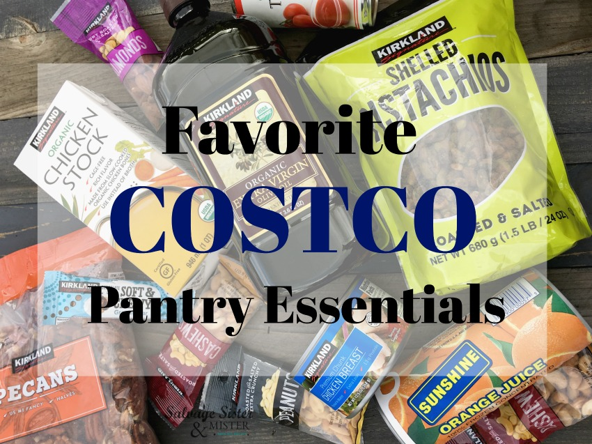 favorite costco pantry essentials salvagesisterandmister.com