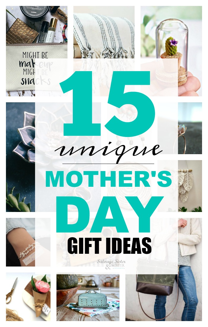 15 unique Mother's Day gift ideas to celebrate the special woman in your life. plus support small shops in the process  #shopsmall  Take the stress out of finding the perfect gift wiht these one of a kind and handmade pieces that will be keepsakes for years to come #mothersday #giftideas