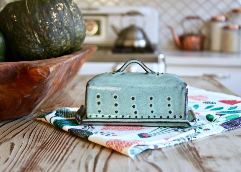 french country butter dish - unique mothers day gift ideas affiliate link