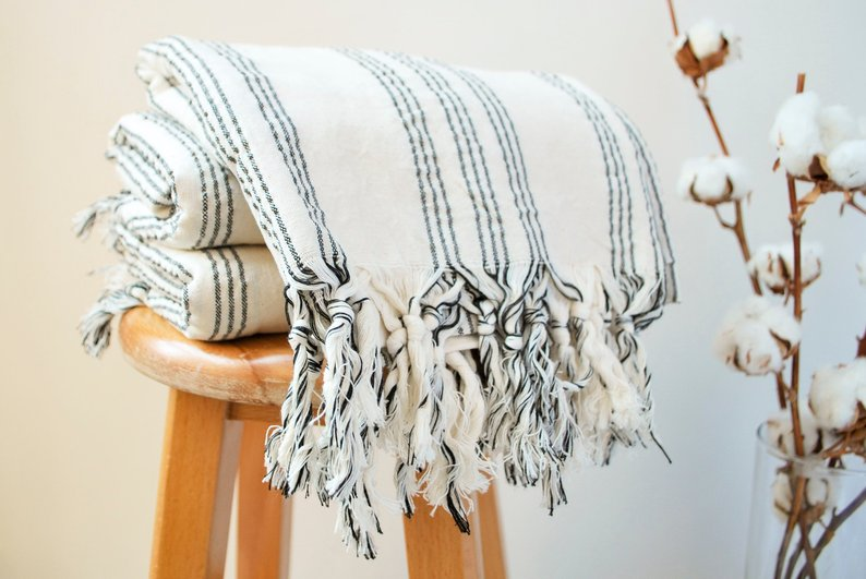 boho turkish towel - unique mother's day gift ideas - affiliat elink