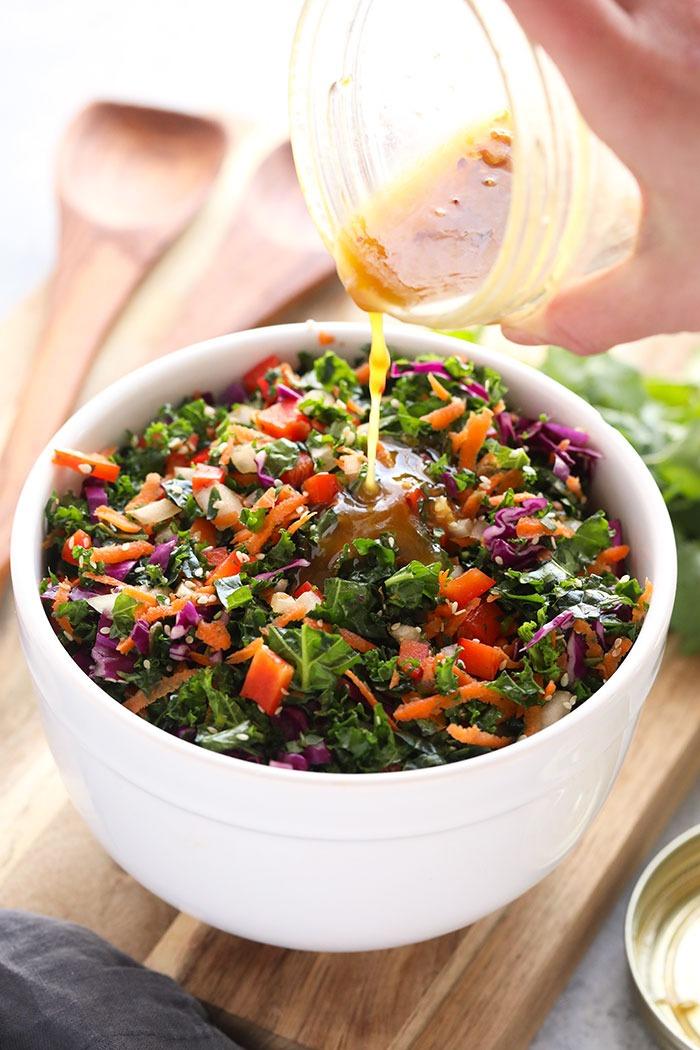 homemade salad dressings - asian dressing