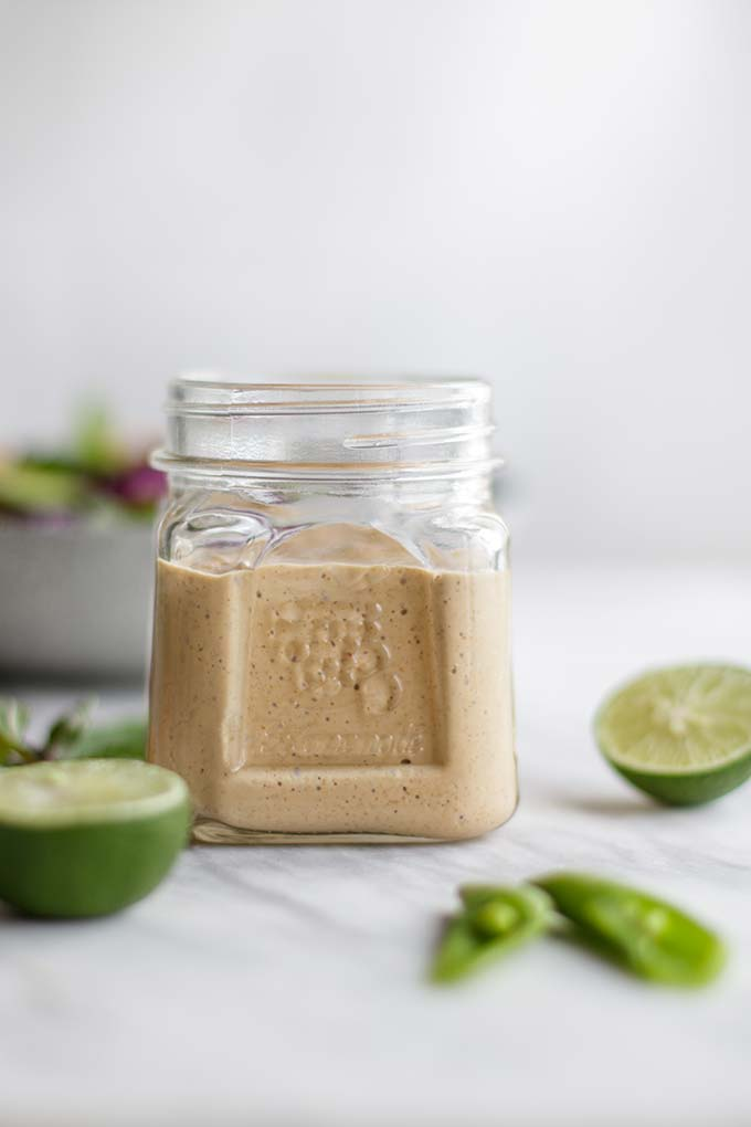 Spicy Thai Salad Dressing