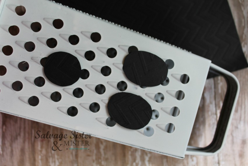 ghost grater face repurposed craft on salvagesisterandmister.com