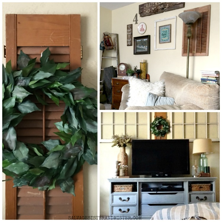 our upcycled diy shutter projects