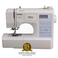 Brother Project Runway CS5055PRW Electric Sewing Machine - 50 Built-In Stitches - Automatic Threading