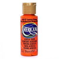 DecoArt DA229-3 Paint Acrylic Jack O Lantern Orange 2OZ,