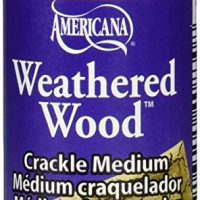 DecoArt DAS8-3 Americana Mediums Paint, 2-Ounce Paint, Weathered Wood
